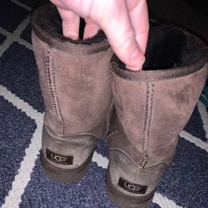Size 9 Classic Short Ugg Chocolate Brown